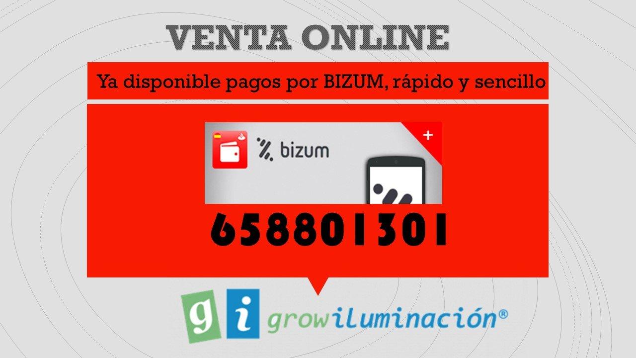 pago por bizum-Grow Iluminación